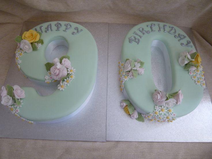 90Th Birthday Cake                                                       …