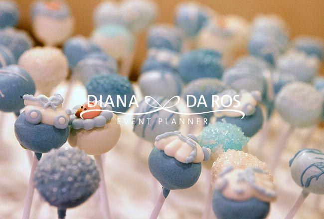 cake-pops-azzurri-battesimo-babyshower - Babyblue cake pops