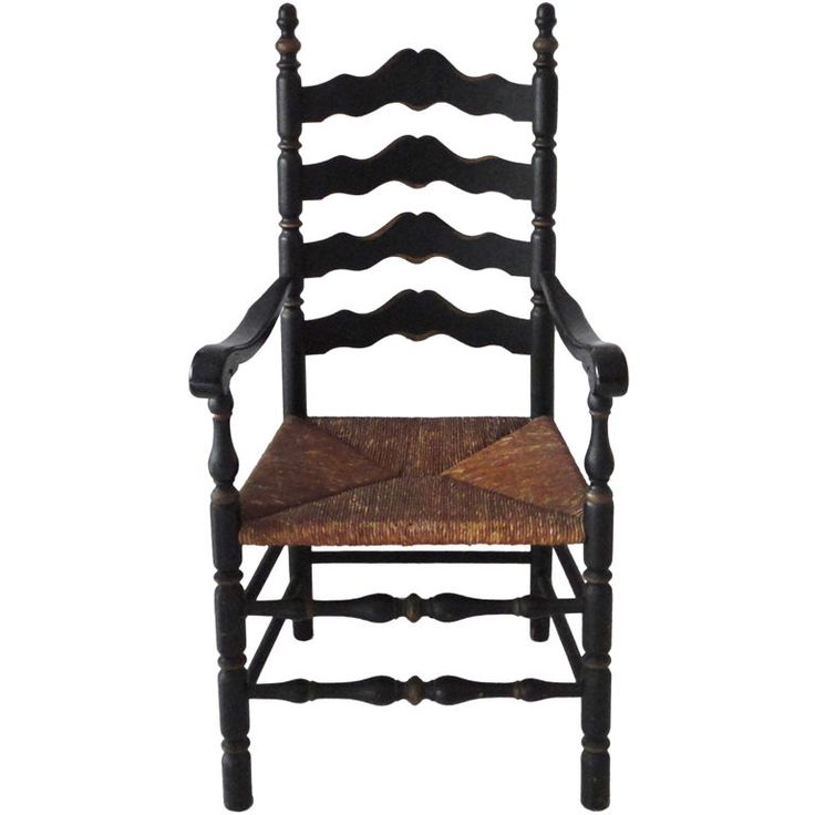 59 Best Ladder Back Chairs Images On Pinterest Antique