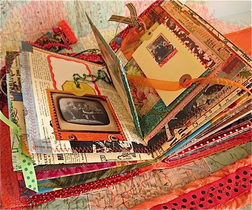 love this altered book!