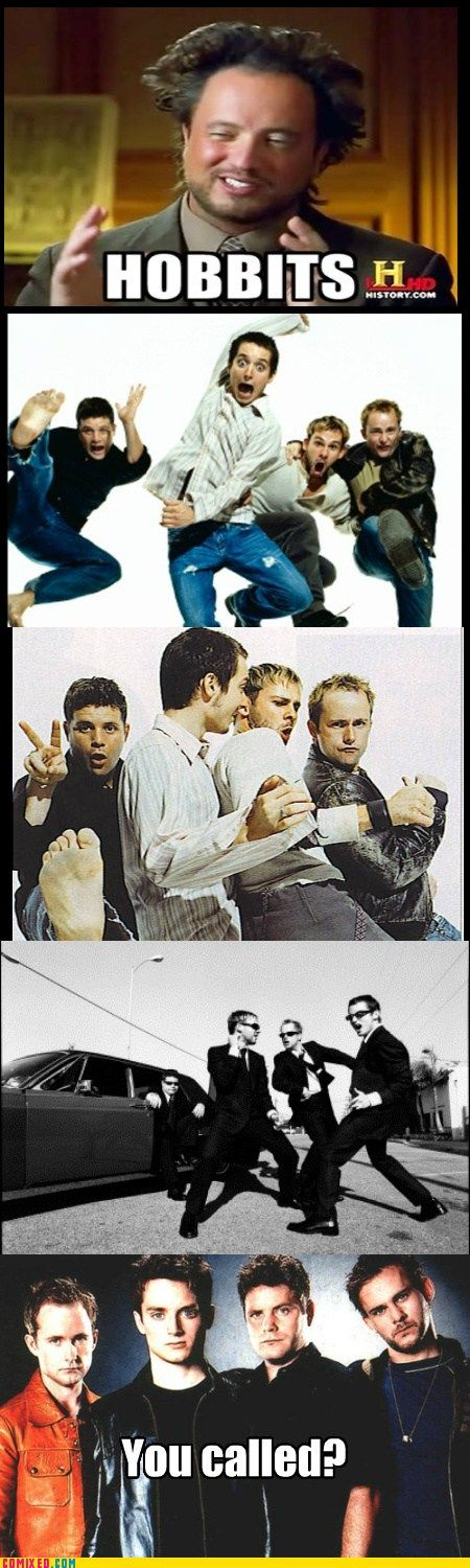 """""""Is it just me or do these pictures make them look like the best boy band ever?"""" You are right, random pinned!"""