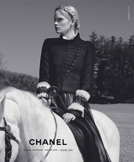 CHANEL Fall Winter 2009 Ad Campaigns by Karl Lagerfeld