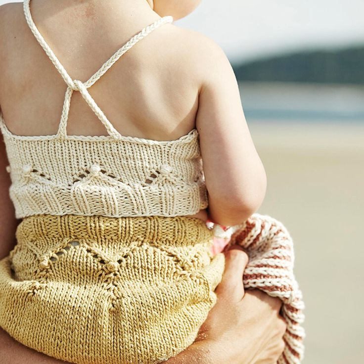 Hand dyed  Hand knit  Misha and puff SS16 A découvrir chez motherlygrey
