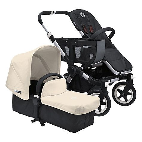 Bugaboo Donkey Pushchair Base and Carrycot 1.1, Black http://www.parentideal.co.uk/john-lewis---bugaboo-donkey.html