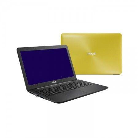 """Asus X555LD-XO274D Yellow 15,6""""-os notebook + ajándék táska + ajándék vezeték nélküli egér."""