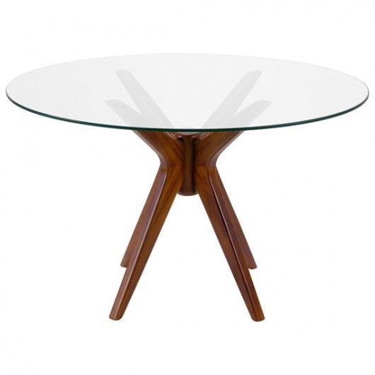 Mesa de vidro e madeira                                                                                                                                                     Mais
