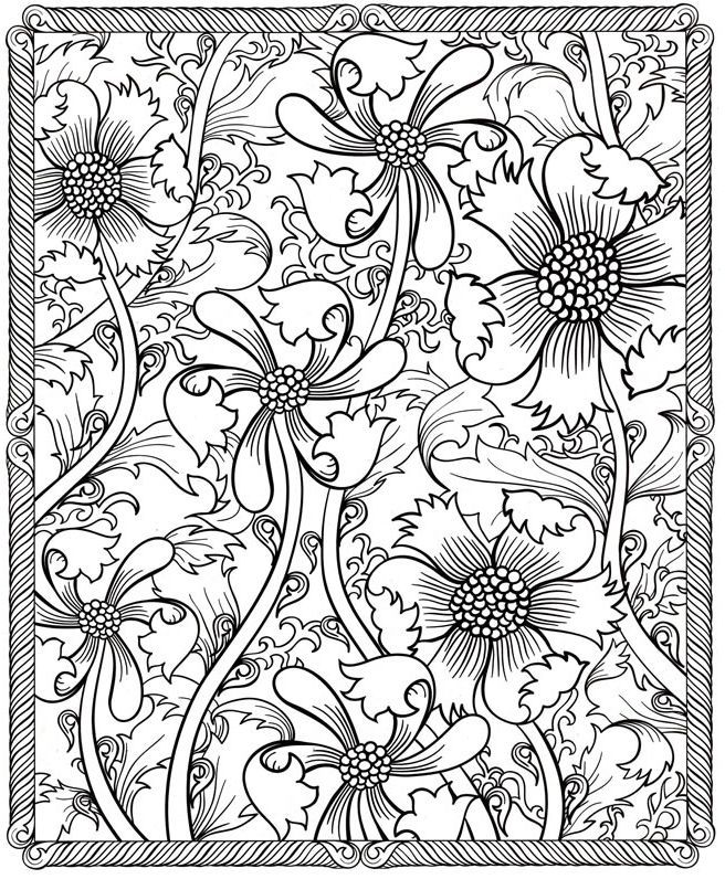 32 best Flowers images on Pinterest | Print coloring pages ...