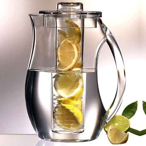 fruit infusion pitcherIdeas, Infused Pitcher, Fruit Flavored, Infused Water, Flavored Water, Lemon Water, Products, Drinks, Fruit Infused
