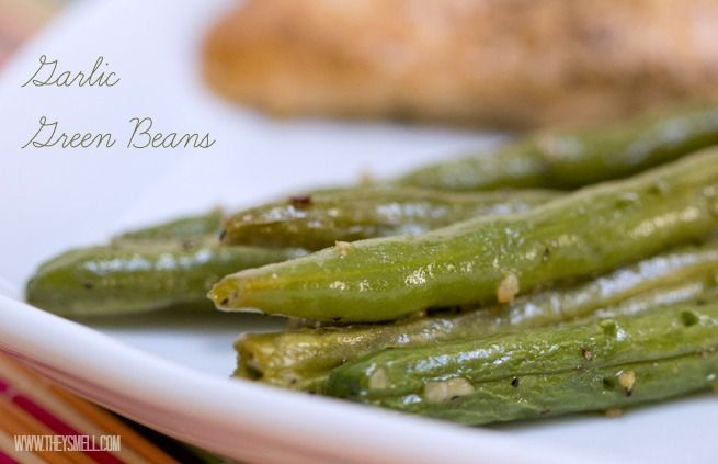 garlic green beans- used coconut oil instead of olive oil. So good and so simple and quick!