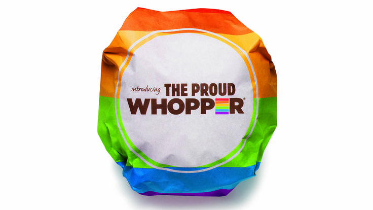 """Burger-King-Proud-Whopper"" Are there no Christians left in the company or holding stock to object?  Where did our voice go? Where are we?  Few are on the outside looking in voluntarily.  It's time to become salt again. Learn more http://www.fightnow.org."