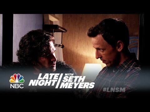 Jon Snow Attends Seth Meyers' Dinner Party