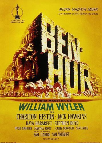 Ben Hur - retro plakat