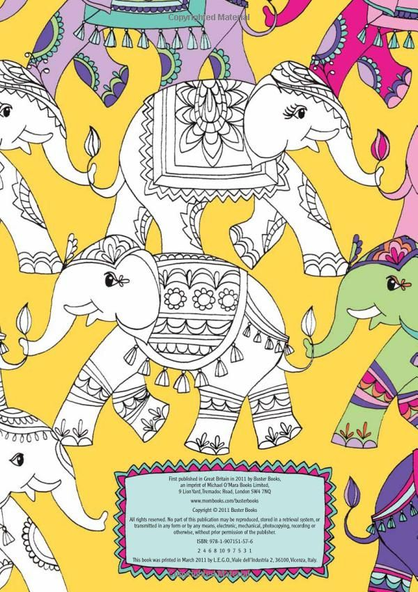 Pretty Patterns Colouring Book Buster Activity Amazoncouk Beth