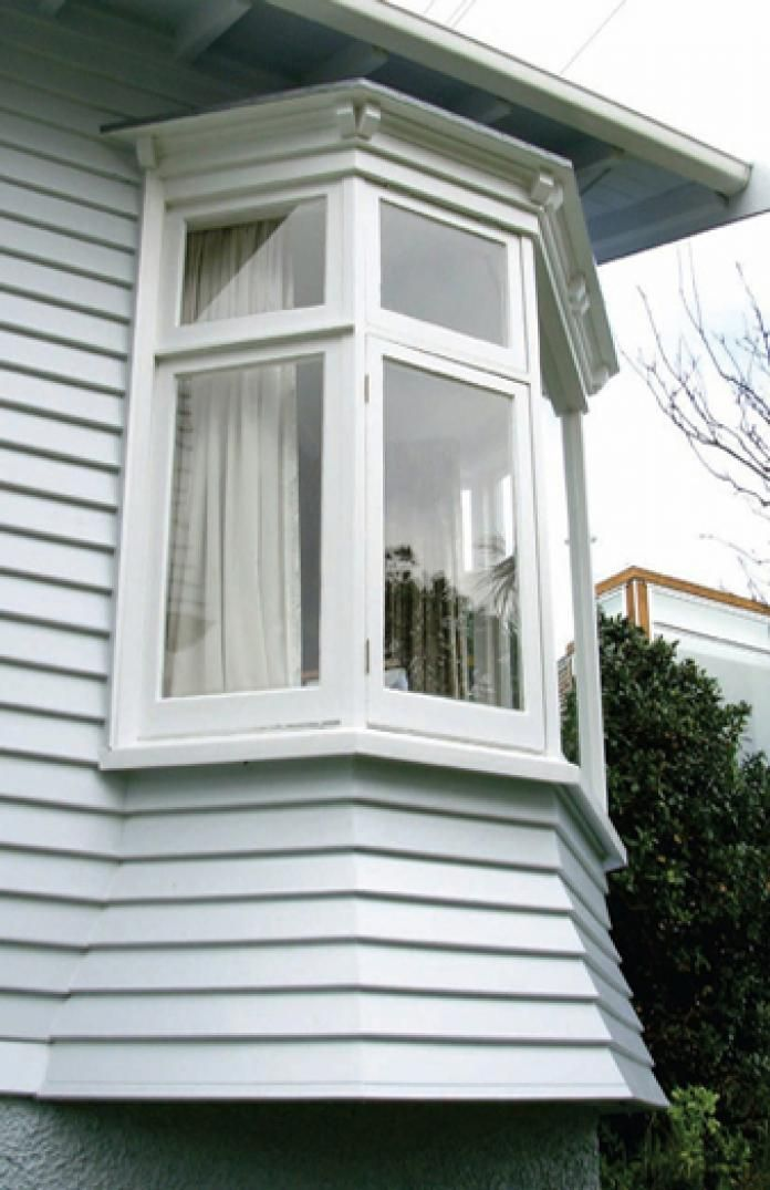 The Types Of Bay Windows Stand Out From Walls A House Or Building Usually Have Slope Angle At 90 135