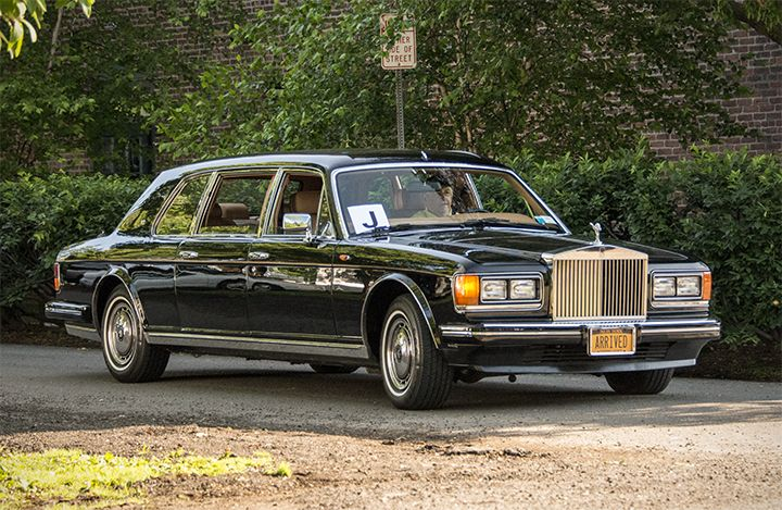 Rolls-Royce Silver Spur Limousine by Mulliner Park Ward to USA Specification