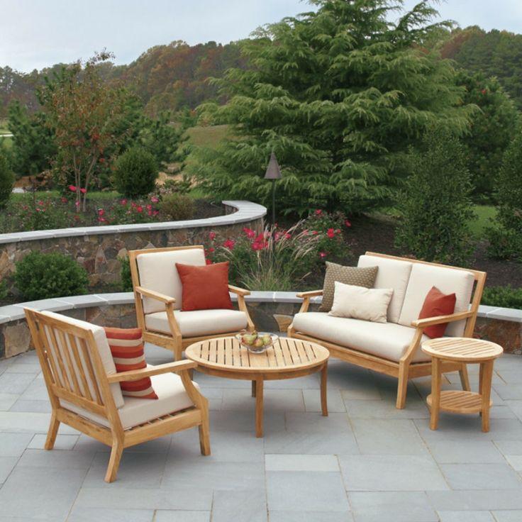 25 best ideas about salon de jardin teck on pinterest salon jardin teck terrasse en teck and. Black Bedroom Furniture Sets. Home Design Ideas