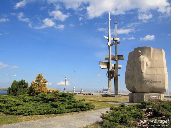 Pomnik Josepha Conrada w Gdyni