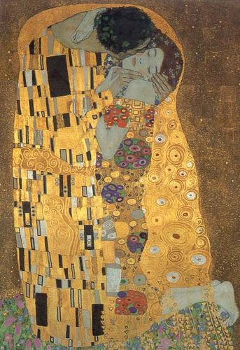 Klimt - le baiser Auguste RODIN. Born in France 1840-1917. Worldwide famous for his sculptures and drawings