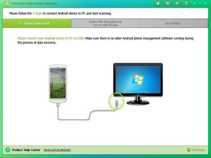 Tenorshare Android Data Recovery, clean UI, brilliant ...