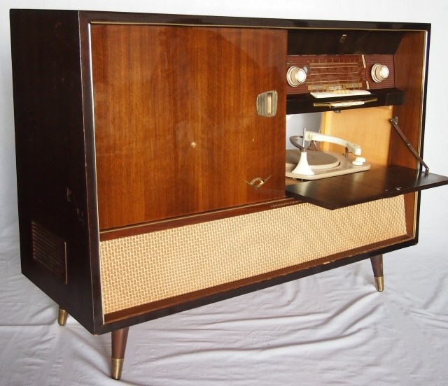 Grundig Majestic Console Stereo Stereo Cabinet