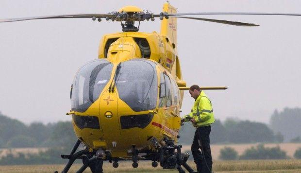 El príncipe Guillermo se despidió de su faceta como piloto de ambulancia aérea