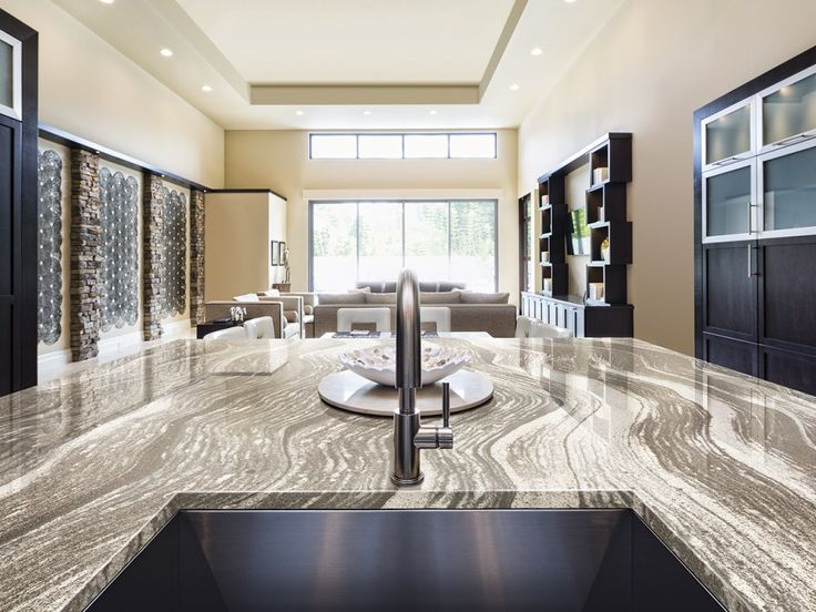 Comptoir de cuisine de la collection Oceanic par @cambriaquartz