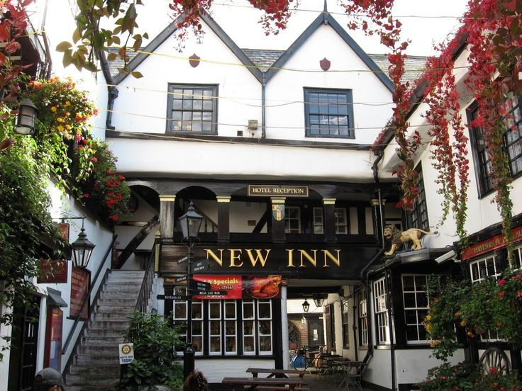 The New Inn Hotel in Gloucester - a real hidden gem, tucked away between the shops in the High Street. Over the last ten years there have been more than 100 reported ghost sightings and paranormal events in the hotel making it one of the most active places in the UK. 16 Northgate Street, Gloucester GL1 1SF, United Kingdom