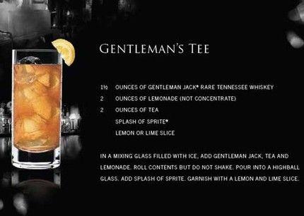 Gentleman Jack Gentleman's Tee drink recipe