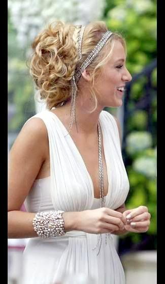 Blake Lively's updo would be perfect for prom!
