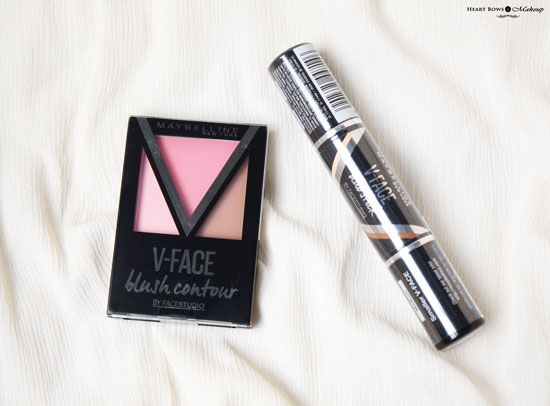 Maybelline V Face Contouring Range Review Price Swatches Buy Online India