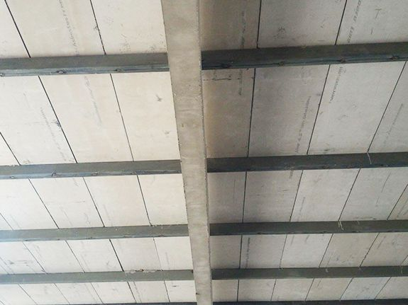Polystyrene Sheets Sandwich Panel Roof Roof Installation Steel Frame House Paneling