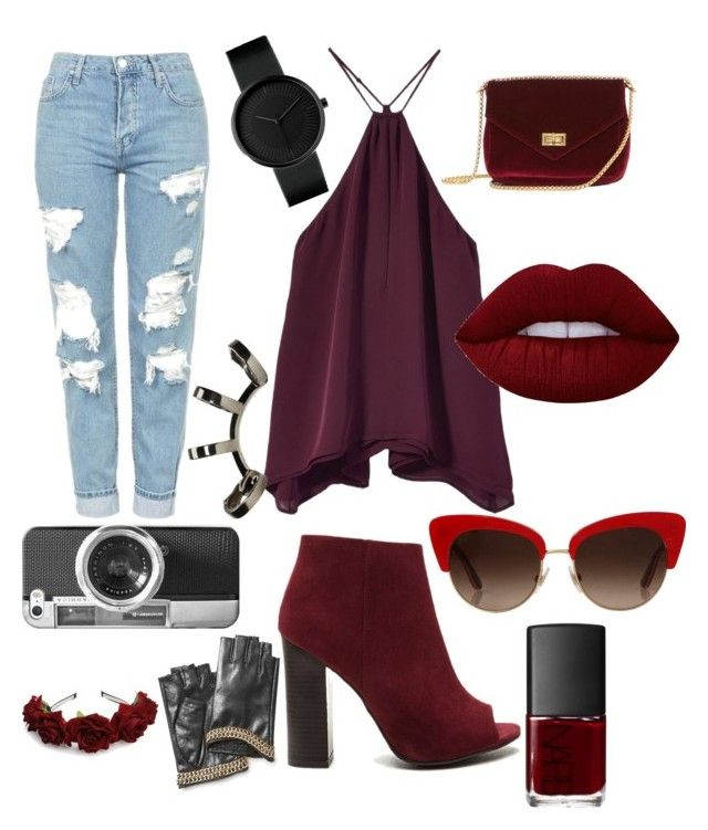 """""""👌👌"""" by boipelo-johny on Polyvore featuring Topshop, Dolce&Gabbana, Lime Crime, NARS Cosmetics, Repossi, Casetify and Karl Lagerfeld"""