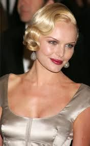 I respect the classic look of finger waves......A forgotten up do!
