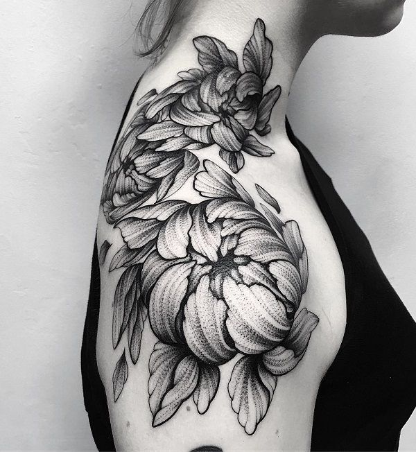 Flower Tattoo Kat Von D: Best 25+ Shoulder Tattoo Ideas On Pinterest