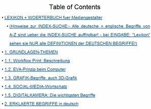 Lexikon- Fachwoerter deutsch Mediengestalter Digital u. Print - Gestaltung u. Technik