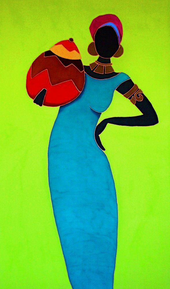 Shahira ~ by Marjolein Scott, Caribbean Artwork