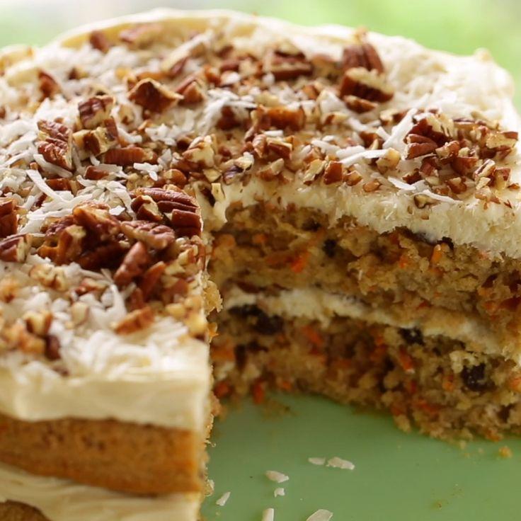 Carrot Cake [Video] Recipe Hummingbird cake recipes
