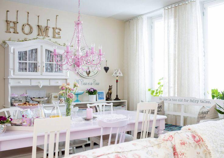 Hempeile hieman – 13 vaaleanpunaista sisustusunelmaa   Meillä kotona