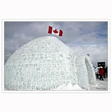 beautiful canadian igloo -  and no, we don't live in these  ;) )
