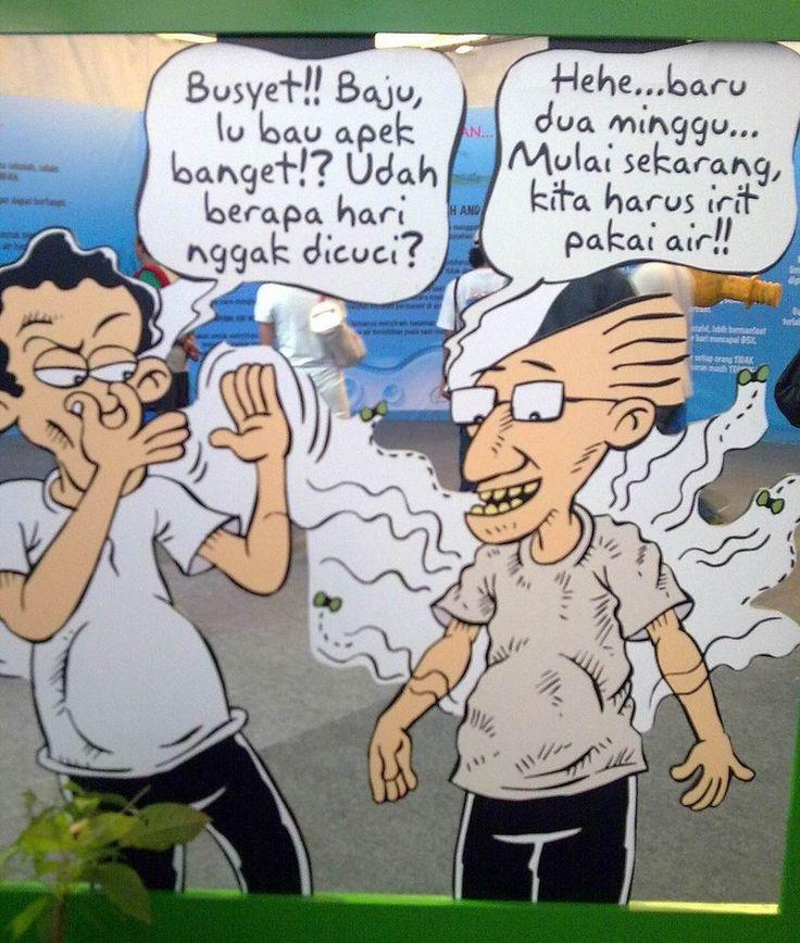 Kartun Benny & Mice: Green Fest - Hemat Air