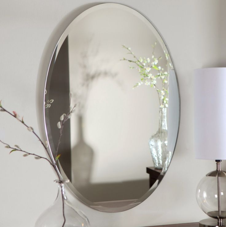 Oval Bathroom Mirrors Sydney