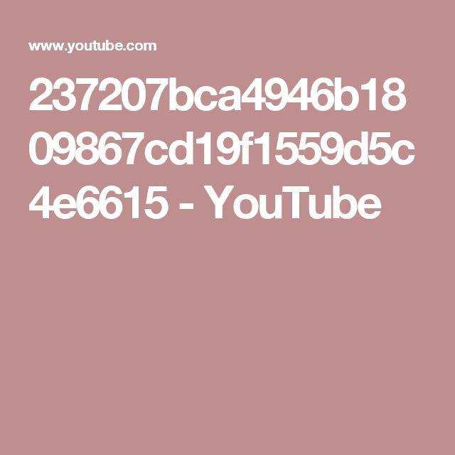 237207bca4946b1809867cd19f1559d5c4e6615 - YouTube