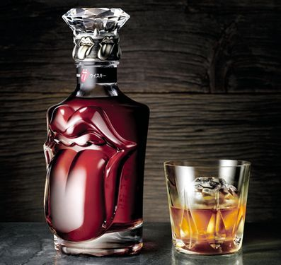 Rolling Stones Whisky #packaging