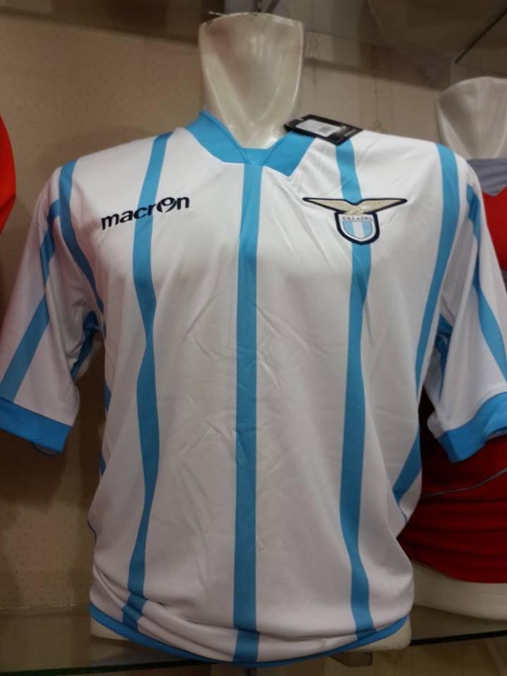 Jual Jersey Lazio Away Musim 2014/2015 Terbaru Murah - Kali ini kami ingin menawarkan kepada anda jersey terbaru lazio away dengan harga murah dan terjangkau.Kualitas dari jersey ini adalah Grade Original 99% mirip dengan jersey aslinya. Bahan