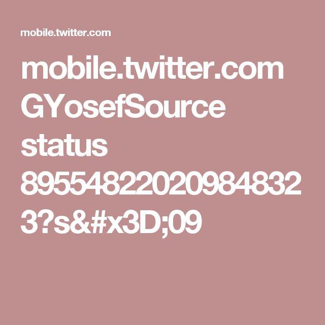 mobile.twitter.com GYosefSource status 895548220209848323?s=09
