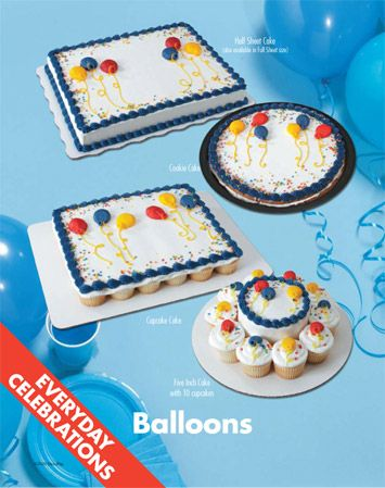 Sam S Club Balloon Cake And Birthday Cakes On Pinterest