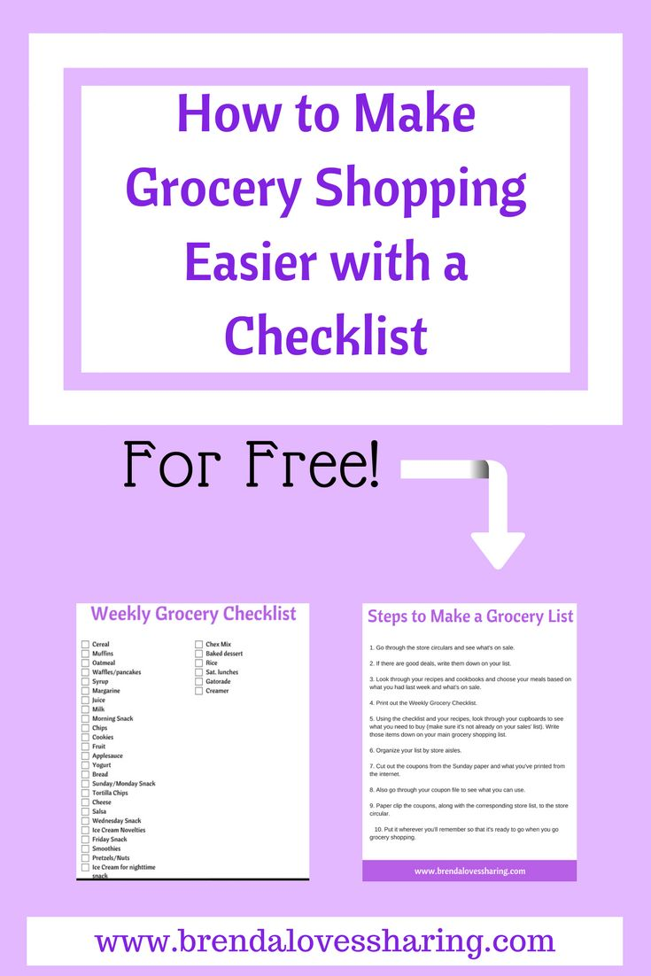 Do you hate making your weekly grocery list? It doesn't need to be difficult when you use a grocery list template. Cut down the time to plan your shopping using a master grocery list. Find out my 10 steps process to conquer the shopping list and grab a free printable grocery list to get you started