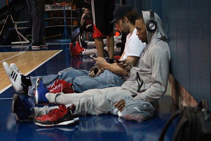 Damian Lillard NBA & JBL headphones