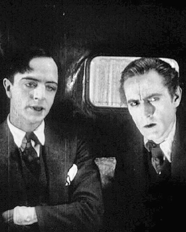 William Powell John Barrymore Sherlock Holmes 1922 John Barrymore William Powell Sherlock Holmes