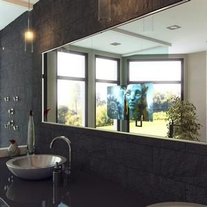 Find This Pin And More On Bathroom Items Modern Emerging Tv Mirror